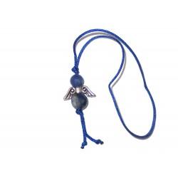 Glücksengel-Anhänger Sodalith blau
