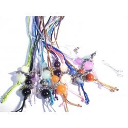 Glücksengel im Set zehn Stück viele Farben
