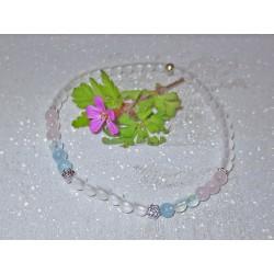 Bergkristall-Aquamarin-Rose...