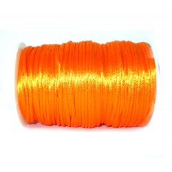Satinband 5 m Schmuckband Satinkordel orange