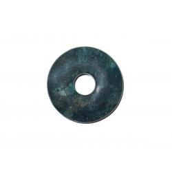Donut Anhänger Moosachat 30 mm