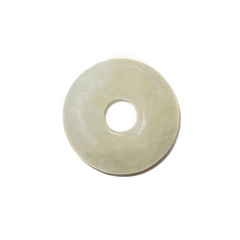 Donut Anhänger Orangencalcit 30 mm