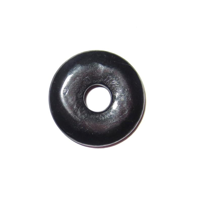 Donut Anhänger Schungit 30 mm