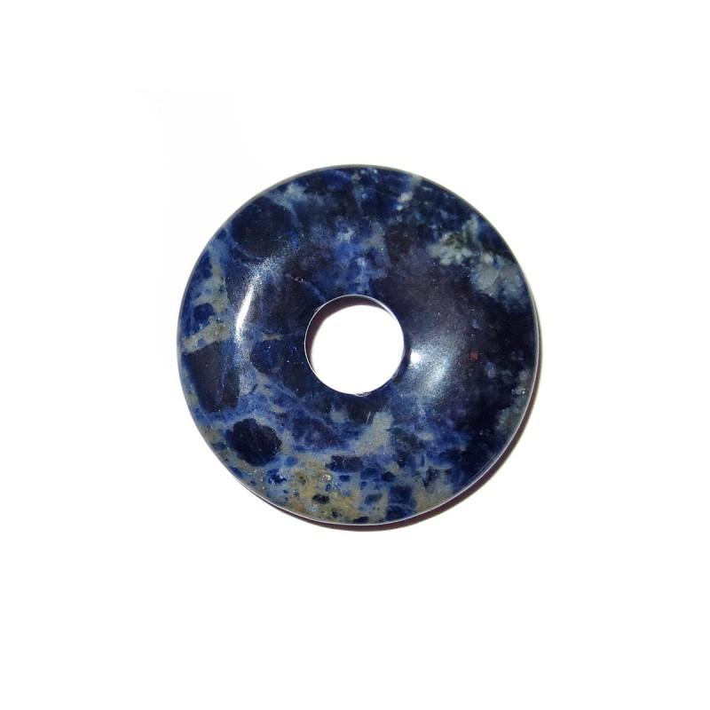 Donut Anhänger Sodalith 30 mm
