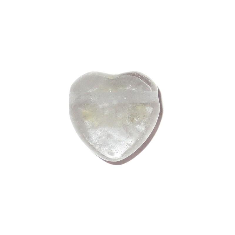 Bergkristall Herz Schmuckstein-Anhänger