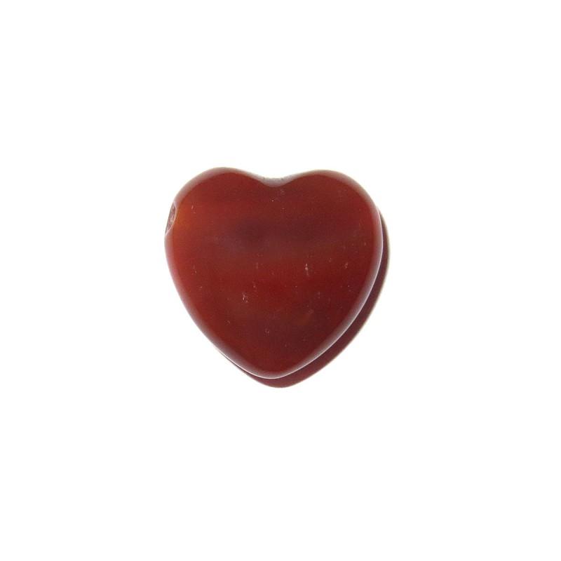 Herz Schmuckstein-Anhänger Karneol