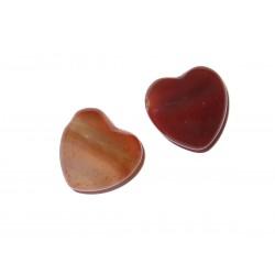 Herz Schmuckstein-Anhänger Karneol  2 Farben