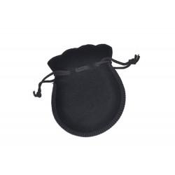 Samtbeutel schwarz Geschenktäschchen 7x9 cm